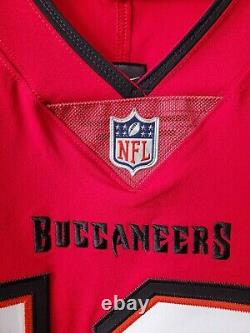 Nike Men's 2020 Tampa Bay Buccaneers Tom Brady NFL Vapor Elite Jersey Size 48