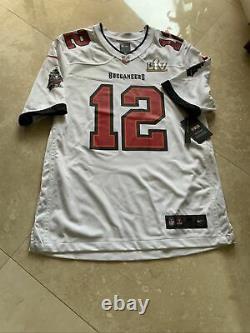 Nike Men's Tampa Bay Buccaneers Tom Brady #12 Super Bowl LV Jersey NFL Bucs. Med