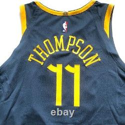 Nike NBA Klay Thompson GSW The Bay City VaporKnit Jersey Size 56 AH6209-430 XXL