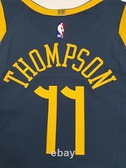 Nike NBA Klay Thompson The Bay City GSW VaporKnit Jersey Sz 52 XL AH6209-430 New