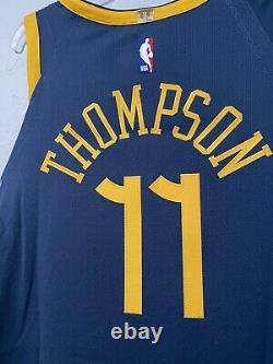Nike NBA Klay Thompson The Bay City VaporKnit Authentic Jersey Sz 52 AH6209-430