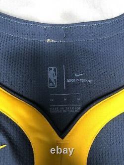 Nike NBA Klay Thompson The Bay City VaporKnit Authentic Jersey Sz M AH6209-430