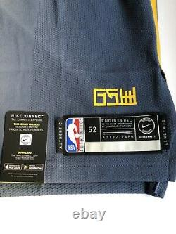 Nike NBA Klay Thompson The Bay City VaporKnit Authentic Mens Jersey Size 52 XL