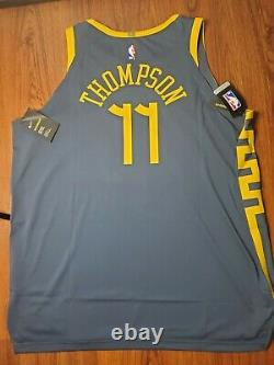 Nike NBA Klay Thompson The Bay City VaporKnit Jersey Authentic AH6209-430 Sz 58