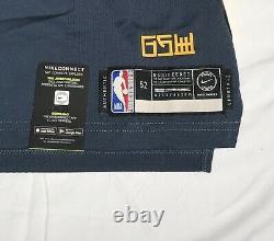 Nike NBA Klay Thompson The Bay City VaporKnit Jersey Sz 52 Authentic AH6209-430