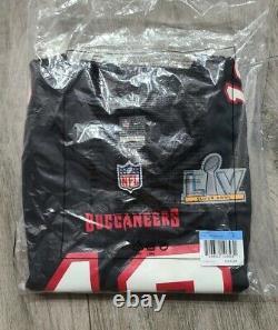 Nike NFL Tampa Bay Buccaneers #12 Tom Brady Super Bowl LV Women's Jersey Medium