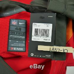 Nike On Field Elite Tampa Bay Buccaneers Stitched Football Jersey New $325 Sz 48