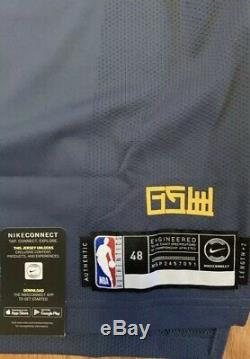 Nike Steph Curry The Bay City Edition Authentic Jersey AH6209-427 $200 Sz 48 (L)