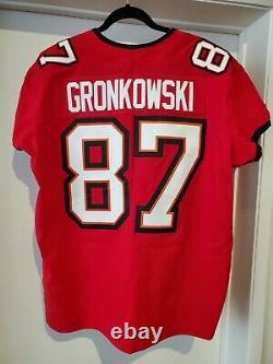 Nike Tampa Bay Buccaneers Rob Gronkowski NFL Vapor Elite Jersey Size 48