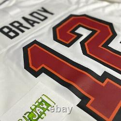 Nike Tampa Bay Buccaneers Tom Brady White Game Jersey Size 2XL Authentic