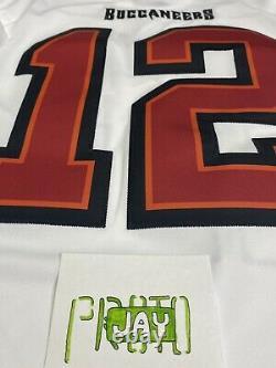 Nike Tampa Bay Buccaneers Tom Brady White Limited Vapor Jersey SZ M Authentic