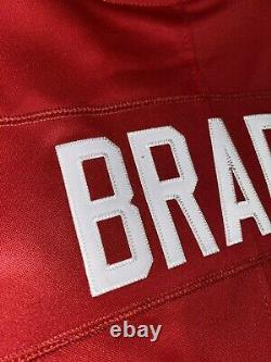 Nike Tom Brady Red Tampa Bay Buccaneers Vapor Limited Jersey MEDIUM 100% AUTH