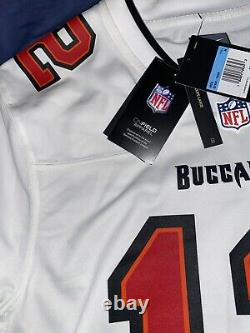 Nike Tom Brady Tampa Bay Buccaneers Game Jersey WHITE Super Bowl LV Color-way