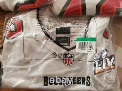 Nike Tom Brady Tampa Bay Buccaneers Super Bowl LV Game Jersey XL