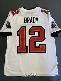 Nike Tom Brady White Tampa Bay Bucs Vapor Limited Jersey MEDIUM 100% AUTHENTIC