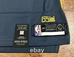 Nike Vaporknit GSW The Bay Klay Thompson Authentic Jersey AH6209-430 Size 48 L