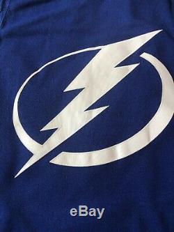 Nikita Kucherov Authentic Adidas Tampa Bay Lightning Jersey Mens Sz M NWT