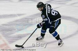 Nikita Kucherov Tampa Bay Lightning 2014 Reebok Premier Black Bolts Jersey
