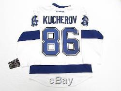 Nikita Kucherov Tampa Bay Lightning Authentic Away Reebok Edge 2.0 7287 Jersey