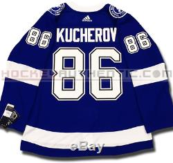 Nikita Kucherov Tampa Bay Lightning Home Authentic Pro Adidas NHL Jersey