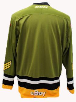 North Bay Battalion OHL Premier Edge Home Replica Jersey X-Large