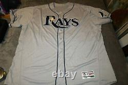 Nwot Authentic Tampa Bay Rays Majestic Flex Base Jersey Made In The USA Size 60
