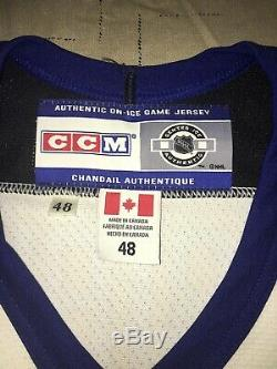 Nwt Auto Tampa Bay Lightning Nikolai Khabibulin Ccm Authentic Jersey Size 48