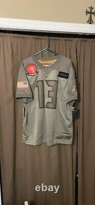 Nwt Mens Tampa Bay Buccaneers Mike Evans Salute To Service Jersey XL Limited