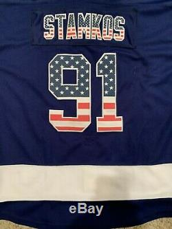 Nwt Steven Stamkos Tampa Bay Lightning 2015 Stanley Cup Final Reebok Jersey