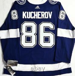 Pro-52 Nikita Kucherov Tampa Bay Lightning Adidas Aeroready Authentic NHL Jersey