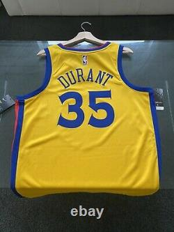 RARE BNWT Kevin Durant Golden State Warriors The Bay Nike NBA Jersey (L)