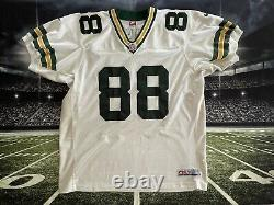 RARE Bubba Franks #88 Nike Pro Line Green Bay Packers Jersey 52