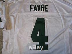 RARE THROWBACK AUTHENTIC REEBOK Brett FAVRE Green Bay PACKERS Jersey- Size 52