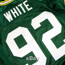REGGIE WHITE 1996 Green Bay Packers MITCHELL & NESS Authentic Home Green Jersey