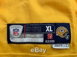 Rare! Brett Favre Green Bay Packer Yellow & NY Jets Reebok NFL Game Jerseys-New