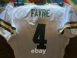 Rare NFL Authentic Reebok Green Bay Packers Brett Fabre Jersey 52 New BNWT