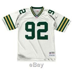Reggie White 1996 Green Bay Packers Mitchell & Ness Road White Legacy Jersey