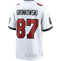 Rob Gronkowski Tampa Bay Buccaneers 2020 NFL Trikot Original Football Jersey 87