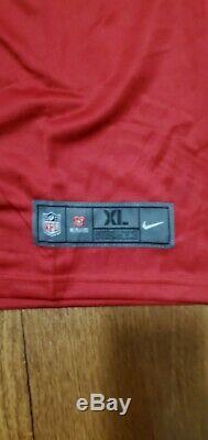 Rob Gronkowski Tampa Bay Buccaneers Nike Vapor Jersey Size Medium