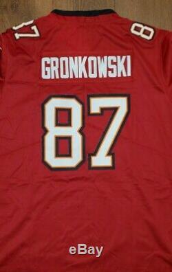 Rob Gronkowski Tampa Bay Buccaneers Nike Vapor Jersey Size XL