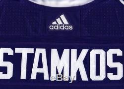 STEVEN STAMKOS size 60 = size 3XL Tampa Bay Lightning ADIDAS NHL Hockey Jersey