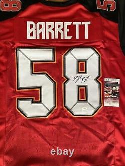 Signed Shaquil Barrett Tampa Bay Buccaneers NFL Custom Jersey JSA COA