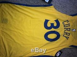 Stephen Curry NIKE AUTHENTIC City Edition The Bay Jersey Size XL NEW With Tags