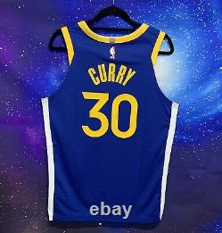 Stephen Curry The Bay Golden State Authentic Warriors Jersey Sz 44 Nba