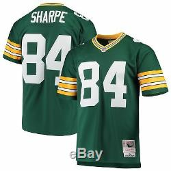 Sterling Sharpe Green Bay Packers 1994 Legacy Throwback Jersey Green M