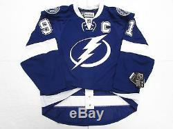 Steven Stamkos Tampa Bay Lightning Authentic Home Reebok Edge 2.0 7287 Jersey