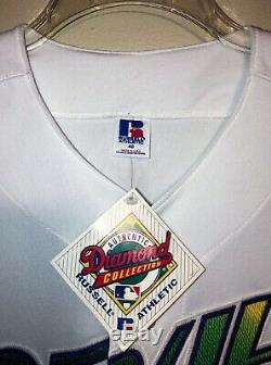 TAMPA BAY DEVIL RAYS RUSSELL 98 INAUGURAL HOME JERSEY SZ 40 NEW With TAGS