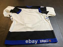 TAMPA BAY LIGHTNING AUTHENTIC CCM 1st VINTAGE PRO JERSEY SZ 54 NEW Without Tags