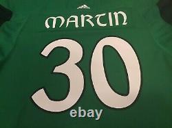 TAMPA BAY LIGHTNING Spencer Martin St Pattys Day Warm Up Jersey 58G Ex Crunch