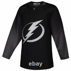 TAMPA BAY LIGHTNING size 46 = Small Alternate 3rd Style ADIDAS NHL HOCKEY JERSEY
